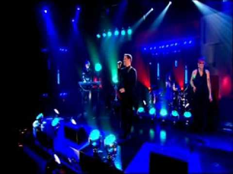 Will Young performing History with Groove...