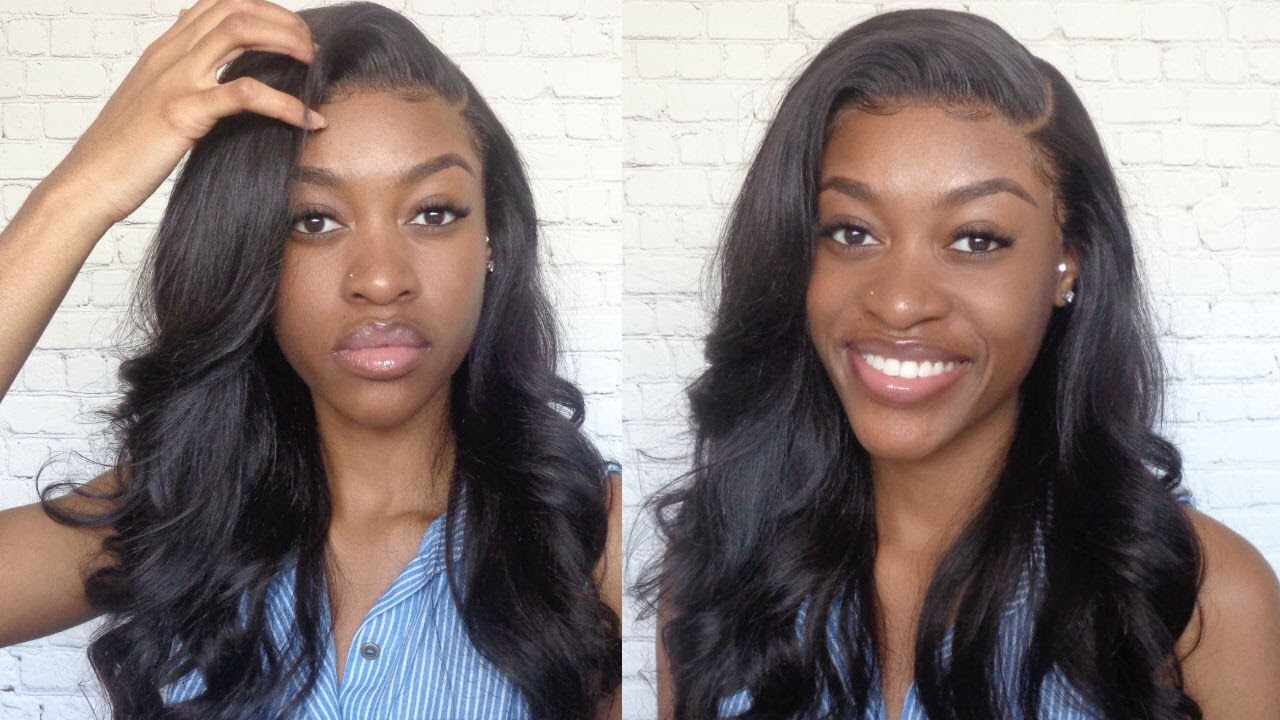 Watch Me Deep Side Part 13x6 Parting Wig Install Gossip Hair Youtube