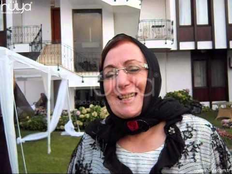 Betül Karagöz Hülya Wedding Osman Aktaş'a Teşekkürü Altunizade Villa İstanbul