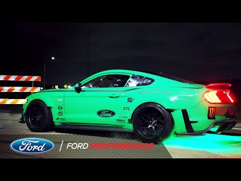 Vaughn Gittin Jr. Drifts Four Leaf Clover in 900HP Mustang | Ford Performance