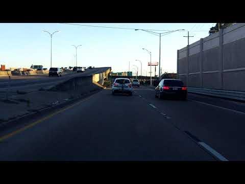 Pontchartrain Expressway (Interstate 10 Exit 232) eastbound/inbound