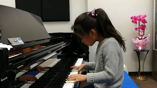 Olivia Li 6 years  plays Beyer NO66