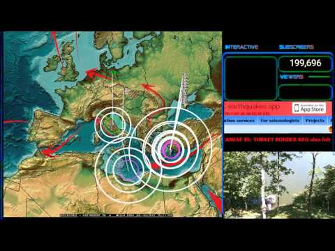 7/30/2017 -- Global Earthquake Unrest -- Deep EQ in Italy + Forecast areas being hit