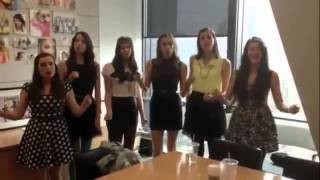 Cimorelli - Party in the USA on Seventeen Magazine (live cover)