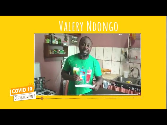 C19CQM - HUMOUR  EMISSION 8 Valery Ndongo