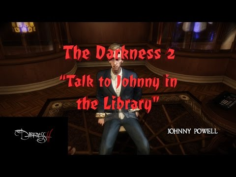 """The Darkness 2 - (Playthrough, Part 11) - """"Talk To Johnny Powell in the Library"""""""