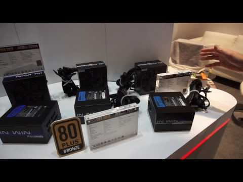 In Win's Power Supplies at CES 2017