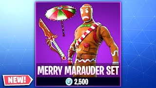 Fortnite Christmas Skins COMING BACK! NEW Fortnite Merry Marauder SET! (Merry Marauder Coming Back)