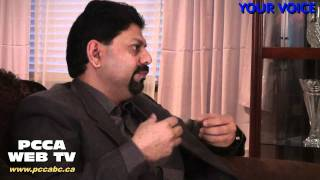 Musharaf visit to Vancouver BC CANADA - Program Your Voice - PCCA WEB TV - P2