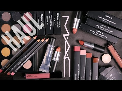 mac-cosmetics-makeup-haul-w/-swatches