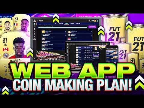 HOW TO MAKE COINS ON THE WEB APP! FIFA 21