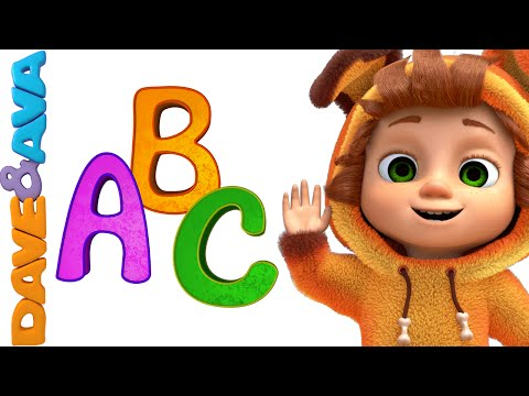 ABC Song   Nursery Rhymes and Abcd Song   Alphabet Song from Dave and Ava