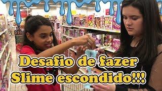 Baixar #slime #diariodacarol FAZENDO SLIME ESCONDIDO NA LOJA ! ACABEI CONHECENDO O CRUSH DA CAROL...