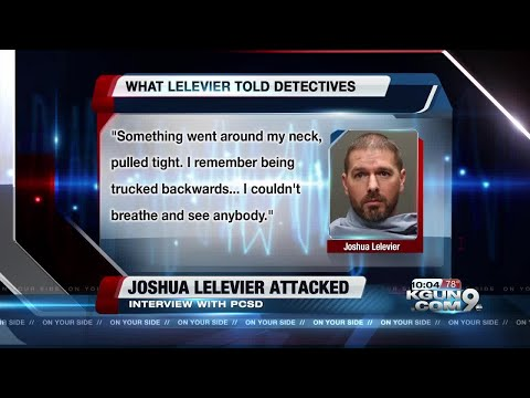 NEW AUDIO: Joshua Lelevier tells detectives what happened the night he claims he was attacked
