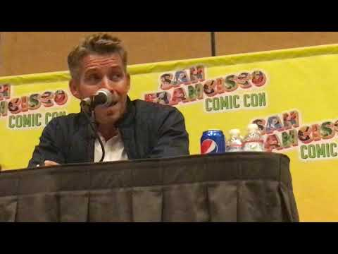 Sean Maguire at San Francisco Comicon