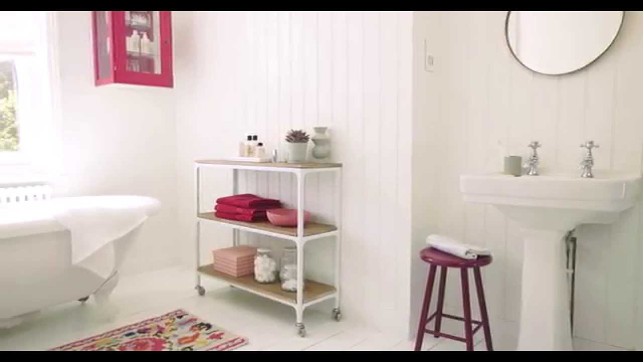 Dulux bathroom ideas - Bathroom Ideas Using Berry And White Dulux