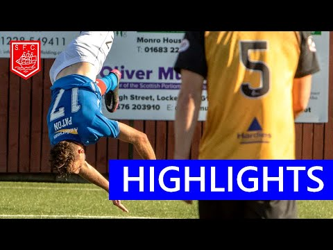 Annan Athletic Stranraer Goals And Highlights