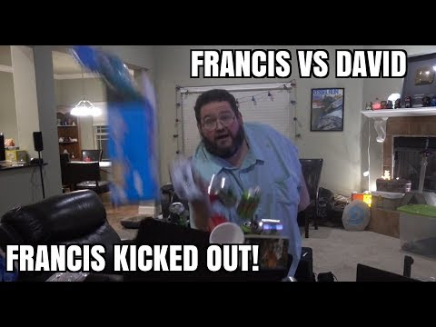 Francis Fridays: David Kicks Out FRANCIS!
