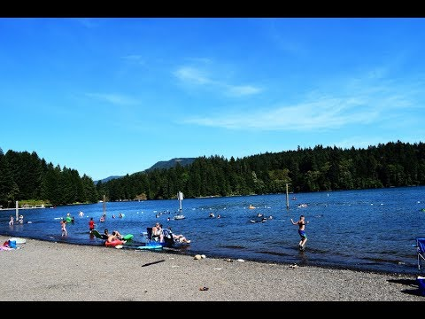 Foster Lake Swimming - Sweet Home, Oregon