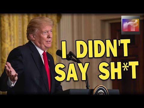 They went CRAZY about what Trump said and it turns out HE DID NOT say it at all