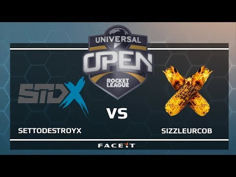 SetToDestroyX vs SizzleUrCob - Universal Open Rocket League