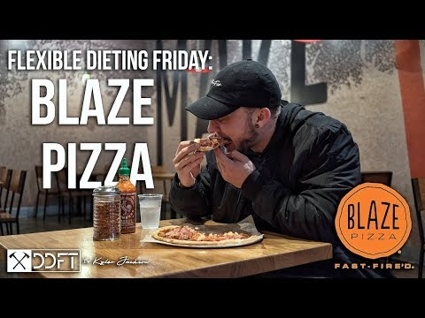 Tracking Macros At Blaze Pizza | Flexible Dieting Friday: Episode #3