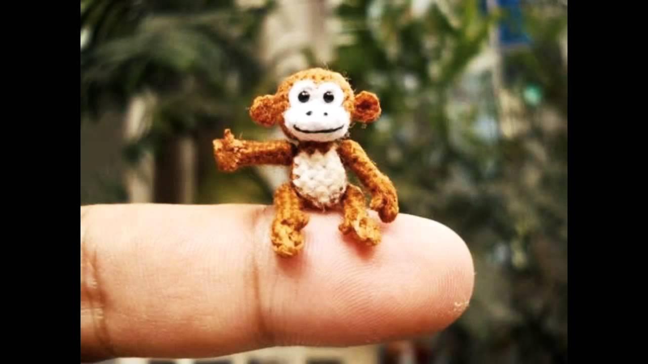 SuAmi Miniature Crochet Animals, Dollhouse Amigurumi Toys ...
