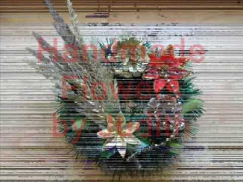 Handmade Flowers - Decoratiuni de Craciun
