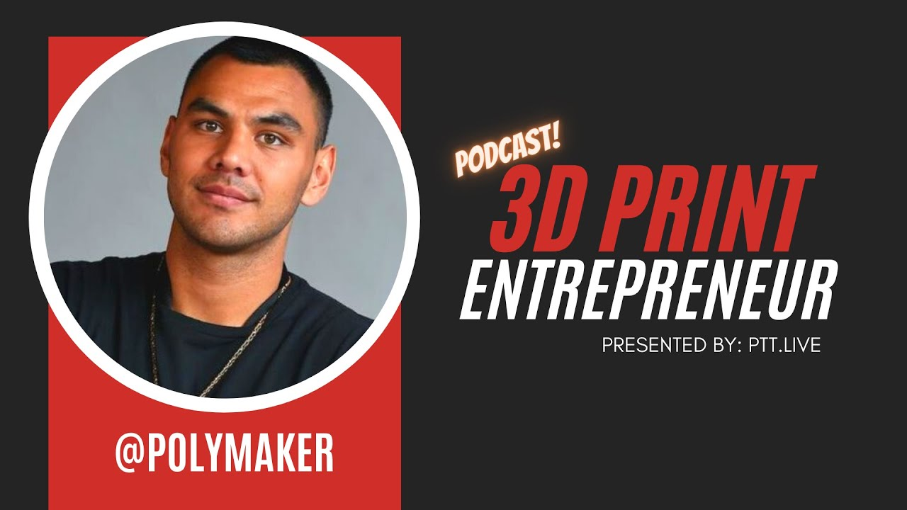 Eco- Friendly PLA w/  @Polymaker  | 3D Print Entrepreneur (S2:E5)