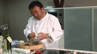 Tetsuya Wakuda's Recipe for Confit of Ocean Trout.
