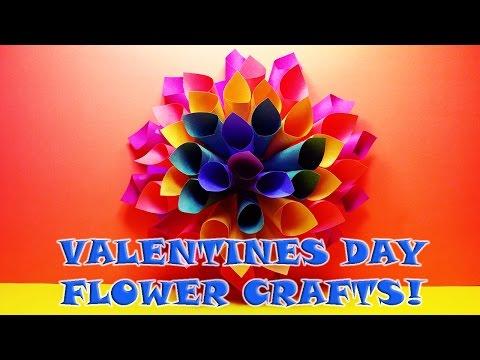 DIY: How to Make HOMEMADE PAPER CRAFT FLOWERS!