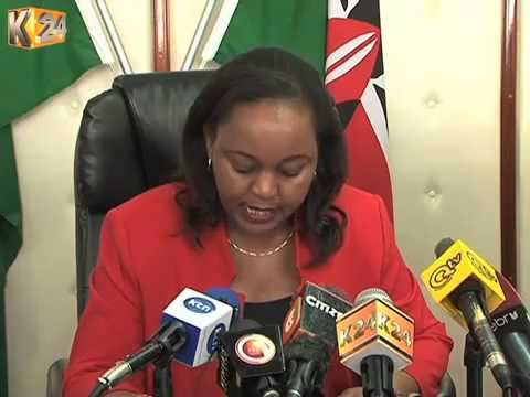 Waiguru Refutes Claims That CBK Questioned NYS Payments