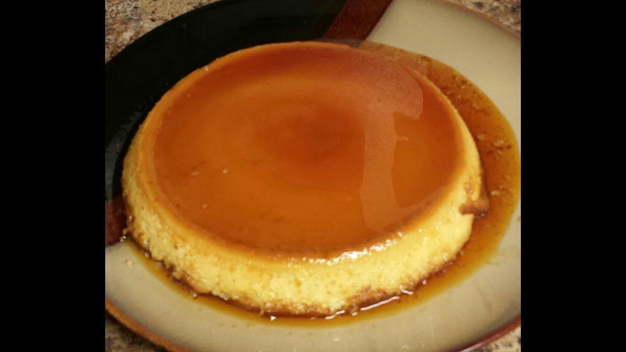 receta flan de caramelo