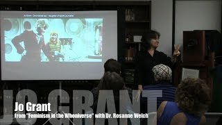 Jo Grant from Doctor Who: Feminism in the Whoniverse with Dr. Rosanne Welch