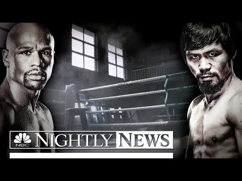 Pacquiao vs Mayweather: Boxing's Richest Prize Fight | NBC Nightly News