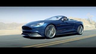 2014 Aston Martin Vanquish Volante - Launch Film