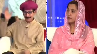 Ayesha Mumtaz in Sawa Teen with Iftikhar Thakur