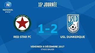 Red Star vs Dunkerque full match