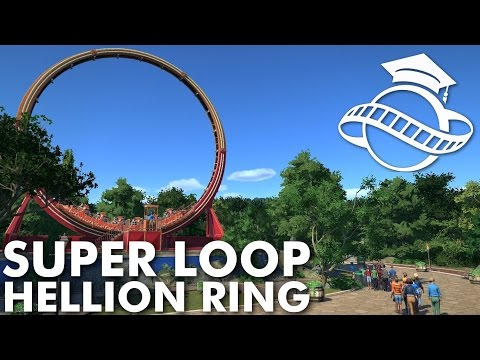 Planet Coaster College - Hellion Ring (Superloop)