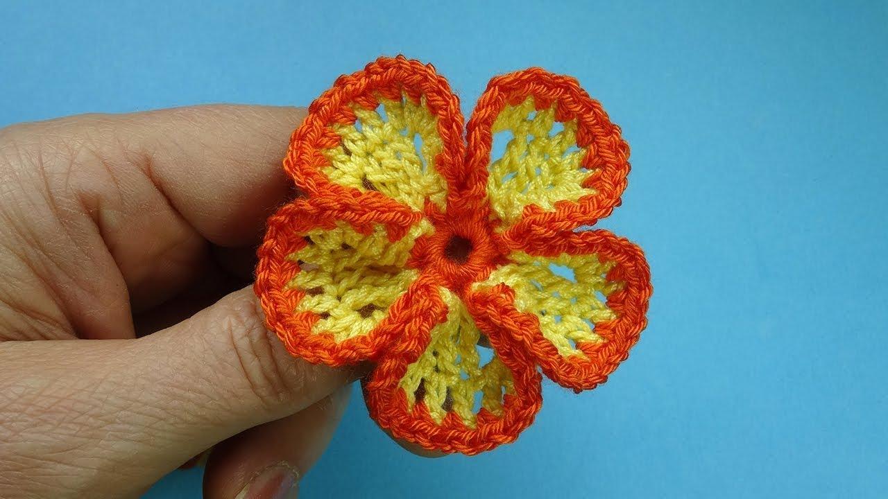 Вязание цветов своими руками