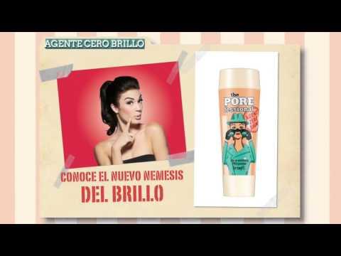 Benefit Cosmetics España -  ¡Agent 0 Shine! El agente secreto contra los brillos