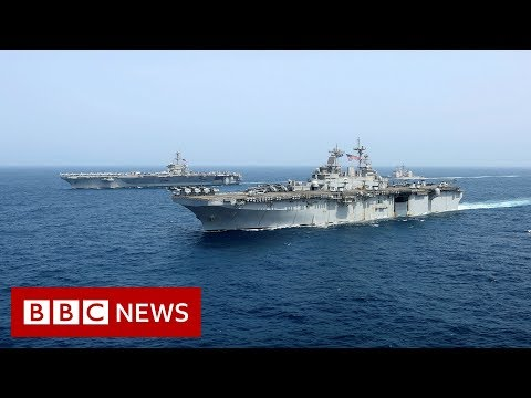 Onboard USS Abraham Lincoln - BBC News