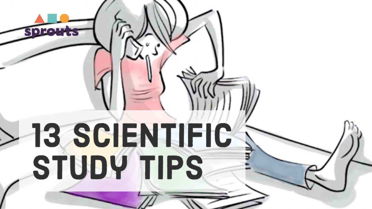 13 study tips youtube