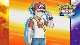 Pokemon Sun and Moon - Battle Against Red!