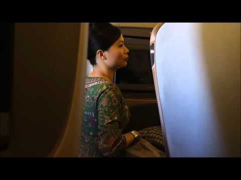 Singapore Airlines Staff Service Business Class