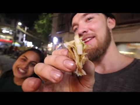 AMERICAN IN INDIA: Eating Rasmalai, Samosa and Tunday Kebab!! (Indian Food)