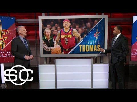 Stephen A. wonders why Isaiah Thomas can play vs. Blazers but not vs. Celtics   SportsCenter   ESPN
