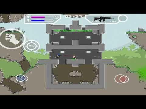 Da2 Mini Militia:Nova/Master vs Hulk/Immortal (RIP master)