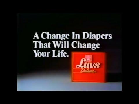Luvs Deluxe Ad 1988