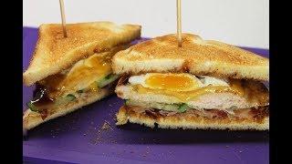 ХРУСТЯЩИЙ СЭНДВИЧ С КУРИЦЕЙ. Club Sandwich